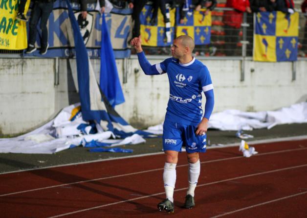 Selim Bengriba élu Grenoblois du match contre Châteauroux