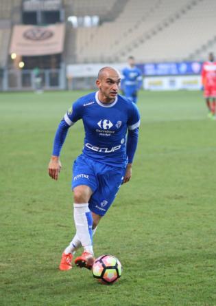 Steven Pinto Borges élu homme du match contre Concarneau