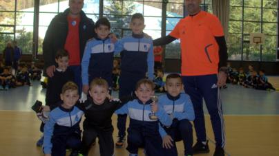 Les U11 du GF38 au tournoi de Noël du Deux Rochers FC