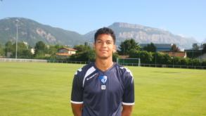 Florian David prolonge avec le GF38 pour deux ans