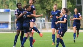 Victoire des féminines pour leur premier match de préparation