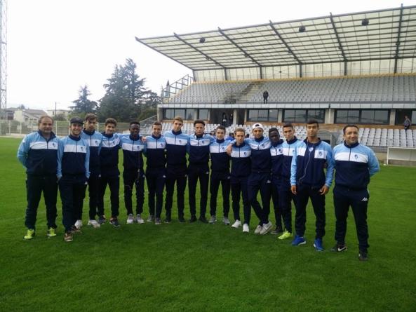Victoire des U19 Promotion Ligue du GF38 à Montélimar