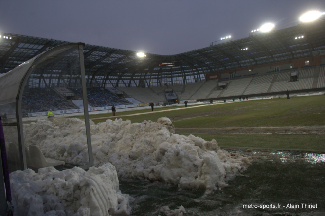 FC Montceau Bourgogne – GF38 vers un report ?