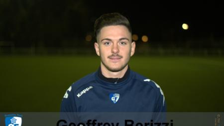 Geoffrey Berizzi (GF38 B) vers le FC Échirolles