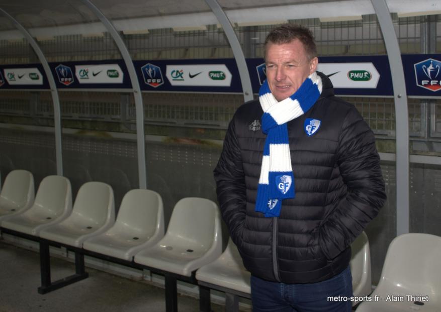 Olivier Guégan, un entraîneur qui «en a»
