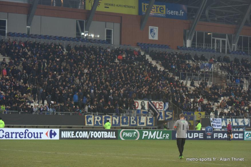 2 869 spectateurs pour le match de Coupe de France