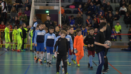 #Vidéo Les U10 du FC2A face à Montpellier