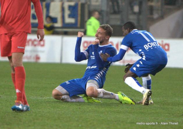 Edwin Maanane (GF38) :»L'objectif : faire monter Grenoble en National»