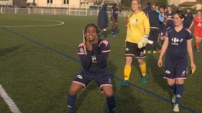Nadjma Ali Najim :  «Mon seul objectif, marquer des buts ! »