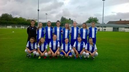 Les U19 Féminines s'imposent à Nancy