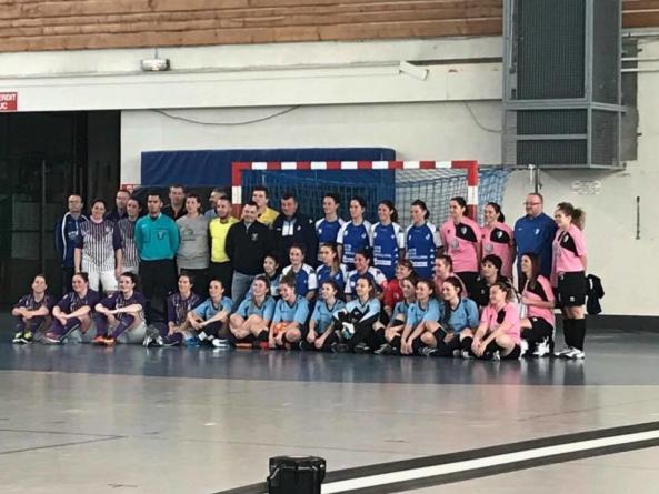 Les Grenobloises championnes départementales de futsal
