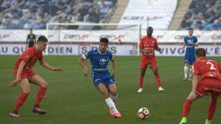 Florian David forfait contre Annecy