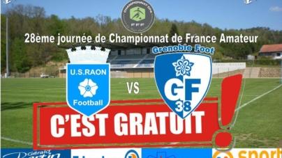 L'entrée sera gratuite pour Raon l'Étape – GF38