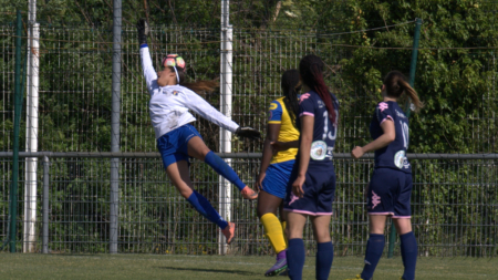 D2F – Les Grenobloises défaites pour leur dernier match de préparation