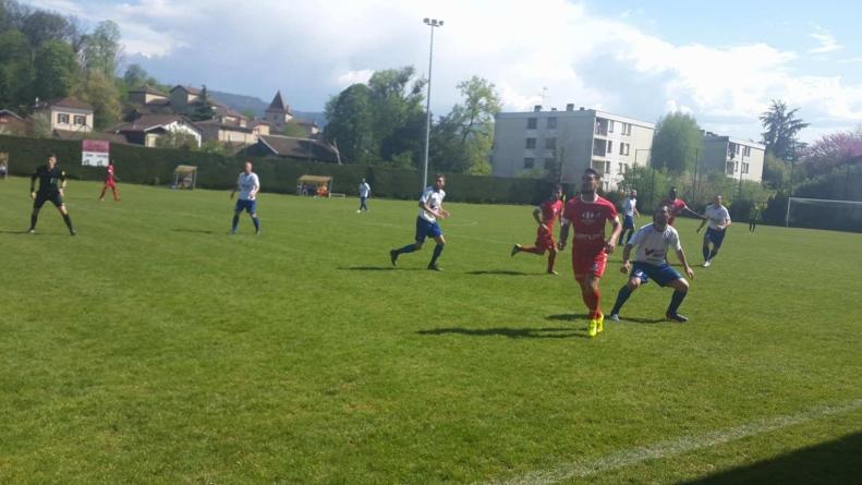 Retour en vidéo sur Saint-Marcellin – GF38 B (1-1)