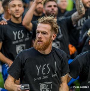 «Julien Deletraz n'est plus Grenoblois» : le GF38 officialise le départ de son milieu