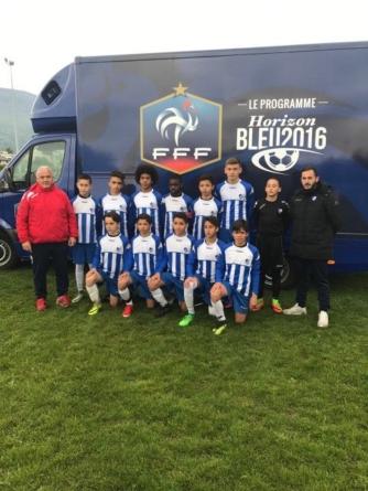 Didier Di Vanni (coach U13 GF38) : «Un rêve, un aboutissement»