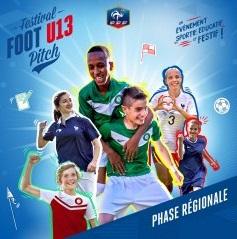 Festival Foot U13 Pitch : Grenoblois et Grenobloises en finale régionale ce samedi