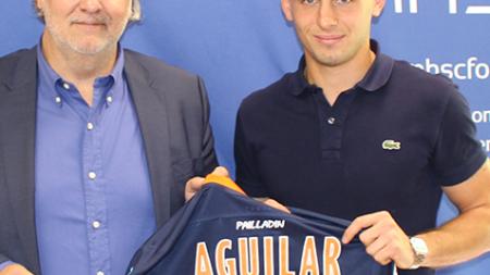Ruben Aguilar nommé meilleur joueur de Montpellier cette saison