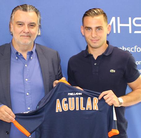 exGF38 – Ruben Aguilar prolonge avec Montpellier