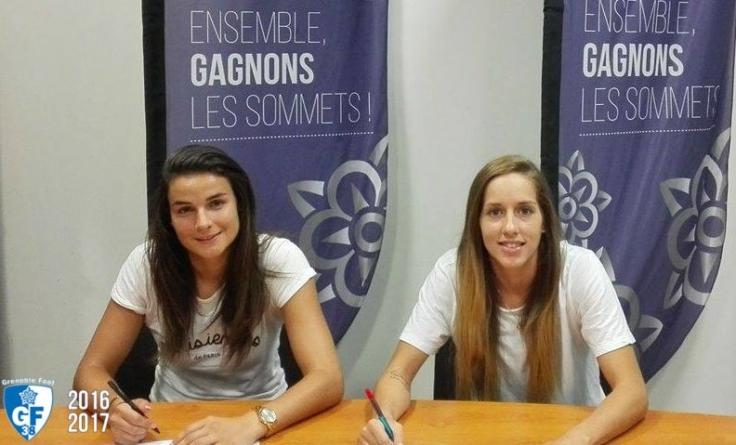 Cindy Perrault et Emylie Girard rejoignent le GF38