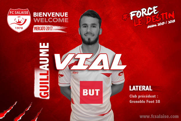 Guillaume Vial vers le FC Salaise
