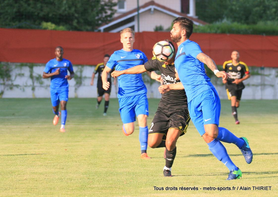 Retour en photos sur GF38 – FC Martigues