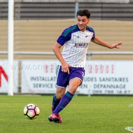Anthony Zenini s'engage à FC Forward Morges