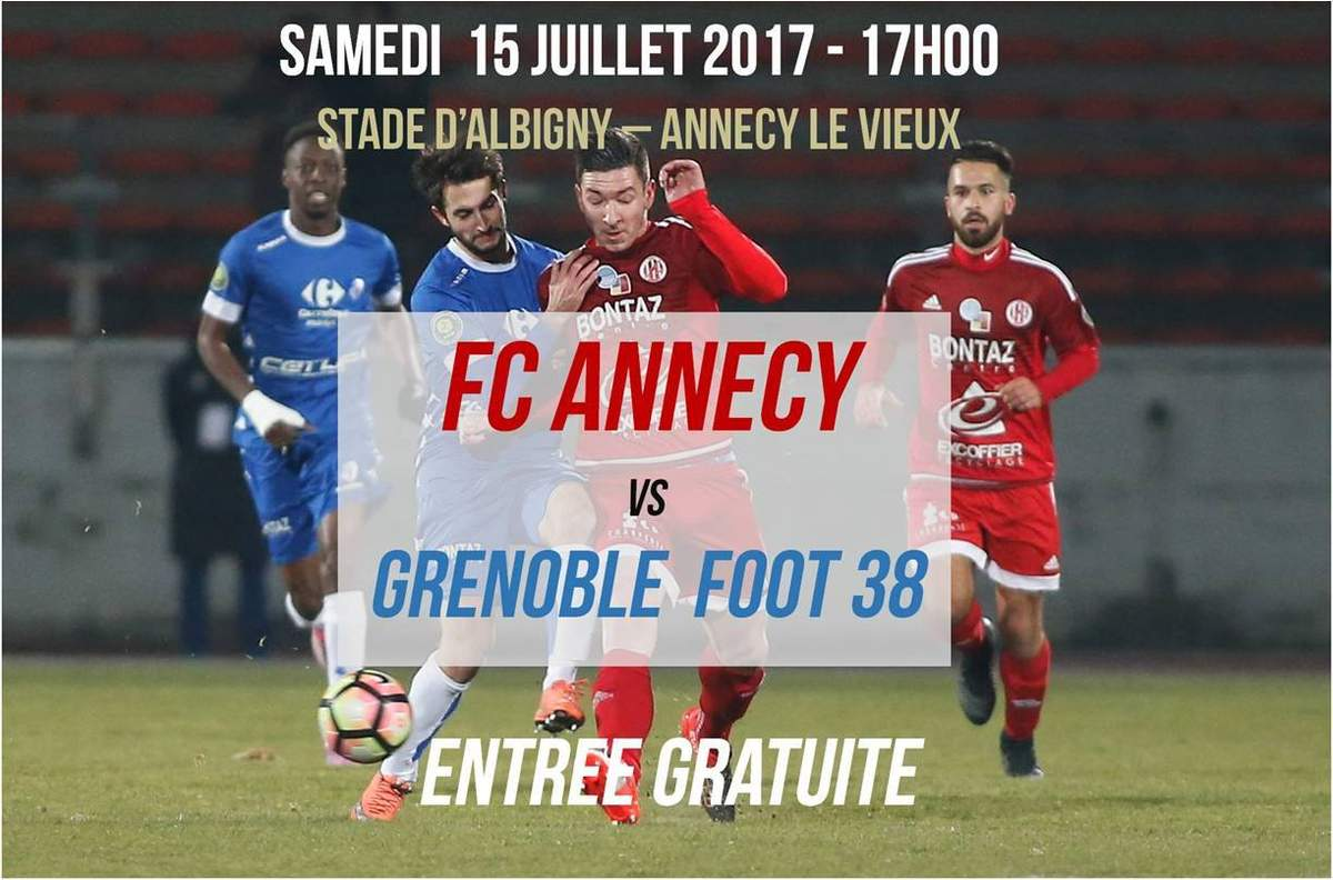 Amical FC Annecy – Grenoble