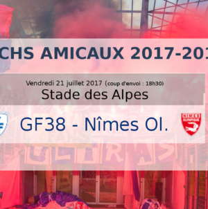 #Direct GF38 – Nîmes Olympique