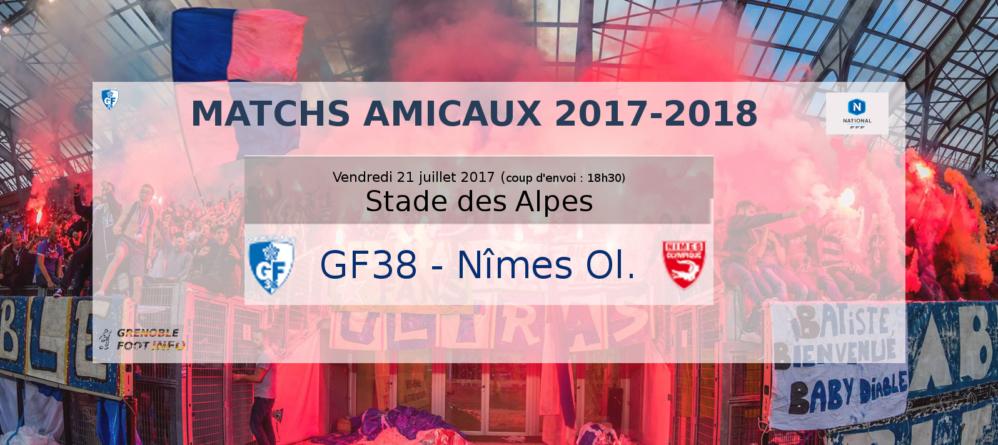 #Direct GF38 – Nîmes Olympique