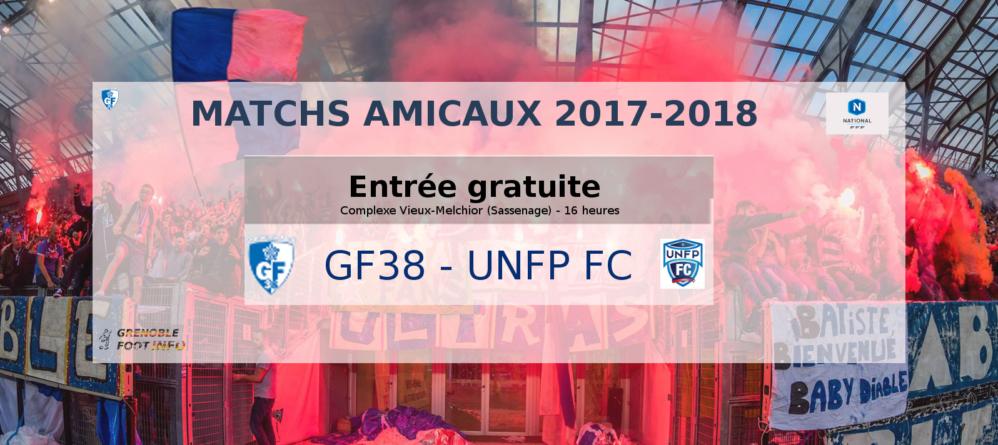 Entrée gratuite pour GF38 – UNFP FC