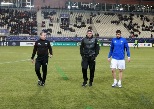 Thierry Laurey (RC Strasbourg) : «ça aurait été une parodie de football»