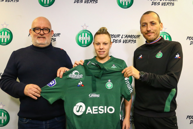 Laury Jésus rejoint l'AS Saint-Étienne
