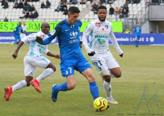GF38 : l'équipe possible pour la réception de Lorient