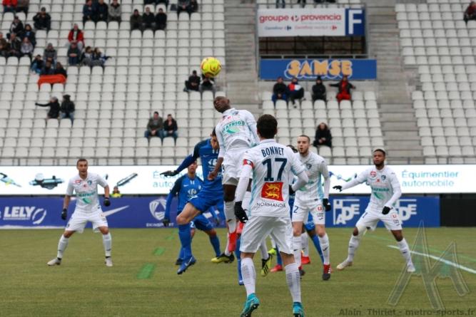 Le Havre : les 18 joueurs retenus contre le GF38