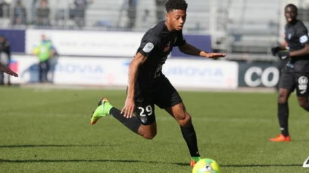 Nathaël Julan prêté à Valenciennes