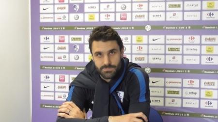 Nicolas Belvito élu Grenoblois du match contre l'AC Ajaccio