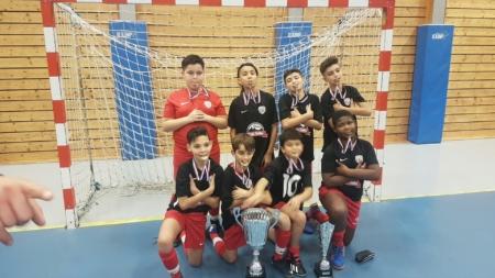 Les U13 de l'US Village Olympique remportent le tournoi de Nivolet