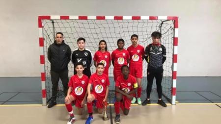 Coupe départementale Futsal : les U13 de l'USVO titrés