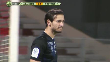 [Vidéo] : L'incroyable triple occasion du GF38 contre l'AC Ajaccio