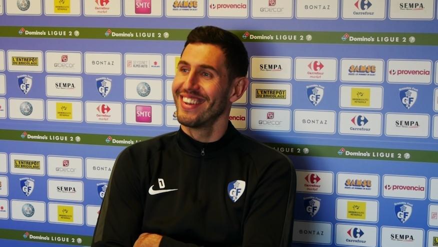 Brice Maubleu (GF38) : «Se fixer des ambitions hautes pour cette 2ème partie de saison»