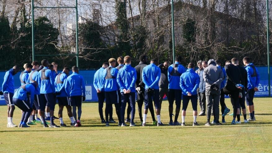 GF38 : les 18 joueurs retenus pour le déplacement à Orléans