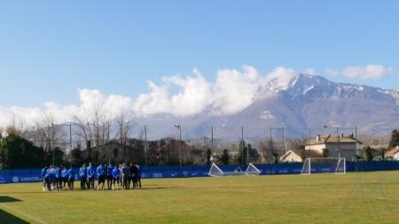 GF38 – Quelques photos de l'entraînement du 12 février 2020