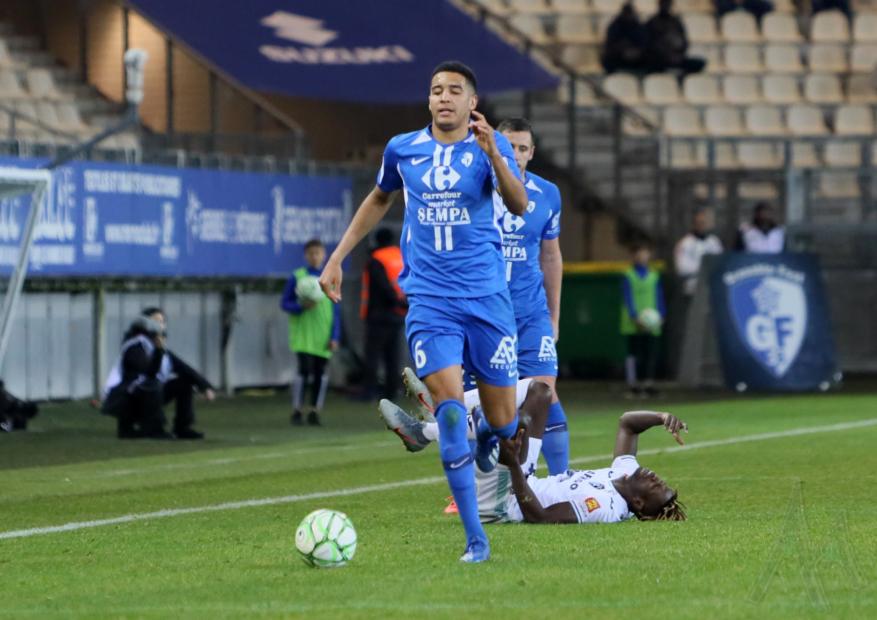 Ligue 2: bilan de la 24ème journée