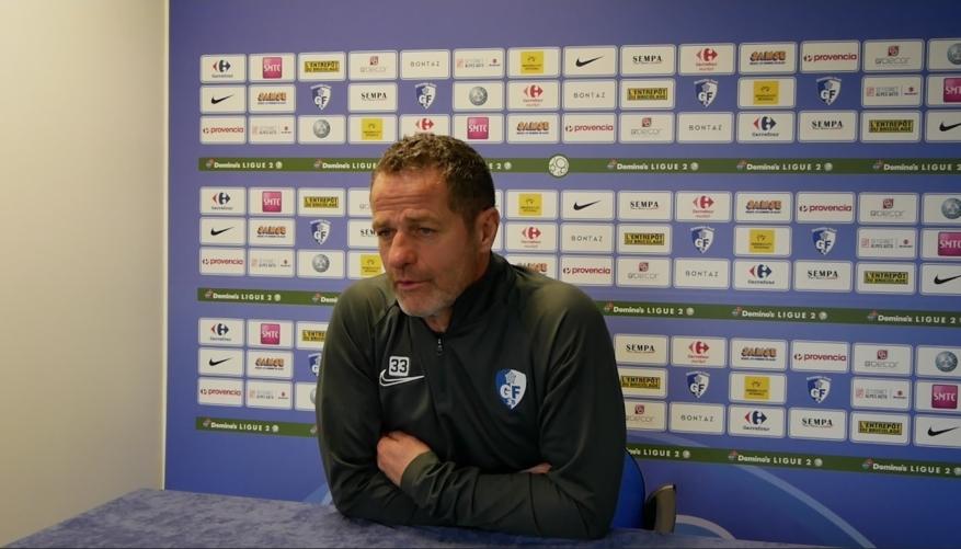 Philippe Hinschberger (GF38) : «J'aspire à des matchs plus spectaculaires à domicile»