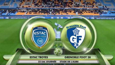ESTAC Troyes – Grenoble Foot 38 ( 1-2 ) : le résumé vidéo