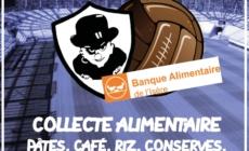 Collecte alimentaire ce vendredi en amont de GF38 – Châteauroux