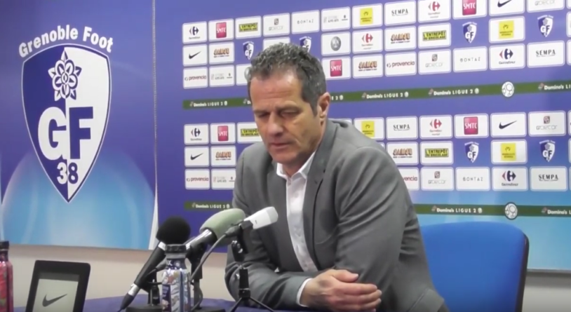 Philippe Hinschberger (GF38) : «Dommage de ne pas profiter avec nos supporters»