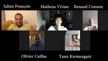 Message de Julien François, Matheus Vivian, Renaud Connen, Olivier Caillas et Yann Kermorgant